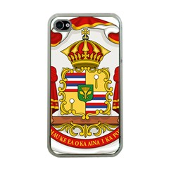 Kingdom Of Hawaii Coat Of Arms, 1850 1893 Apple Iphone 4 Case (clear) by abbeyz71