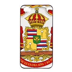 Kingdom Of Hawaii Coat Of Arms, 1850 1893 Apple Iphone 4/4s Seamless Case (black) by abbeyz71