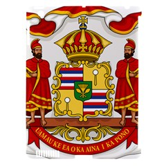 Kingdom Of Hawaii Coat Of Arms, 1850 1893 Apple Ipad 3/4 Hardshell Case (compatible With Smart Cover) by abbeyz71