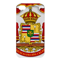 Kingdom Of Hawaii Coat Of Arms, 1850 1893 Apple Iphone 4/4s Premium Hardshell Case by abbeyz71