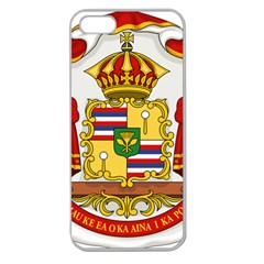 Kingdom Of Hawaii Coat Of Arms, 1850 1893 Apple Seamless Iphone 5 Case (clear) by abbeyz71