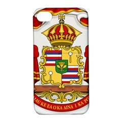 Kingdom Of Hawaii Coat Of Arms, 1850 1893 Apple Iphone 4/4s Hardshell Case With Stand by abbeyz71