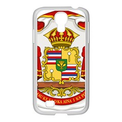 Kingdom Of Hawaii Coat Of Arms, 1850 1893 Samsung Galaxy S4 I9500/ I9505 Case (white) by abbeyz71