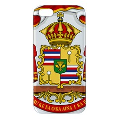 Kingdom Of Hawaii Coat Of Arms, 1850 1893 Iphone 5s/ Se Premium Hardshell Case by abbeyz71