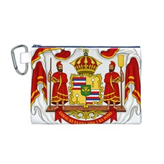 Kingdom Of Hawaii Coat Of Arms, 1850 1893 Canvas Cosmetic Bag (m) by abbeyz71