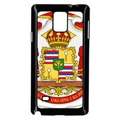 Kingdom Of Hawaii Coat Of Arms, 1850 1893 Samsung Galaxy Note 4 Case (black) by abbeyz71