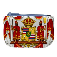 Kingdom Of Hawaii Coat Of Arms, 1850 1893 Large Coin Purse by abbeyz71