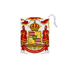 Kingdom Of Hawaii Coat Of Arms, 1850 1893 Drawstring Pouches (xs)  by abbeyz71