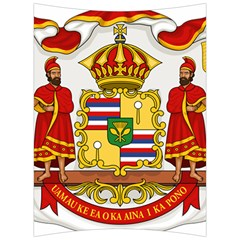 Kingdom Of Hawaii Coat Of Arms, 1850 1893 Back Support Cushion