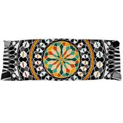 High Contrast Mandala Body Pillow Case Dakimakura (two Sides) by linceazul