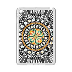 High Contrast Mandala Ipad Mini 2 Enamel Coated Cases by linceazul