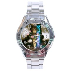 The Wonderful Women Of Earth Stainless Steel Analogue Watch by FantasyWorld7