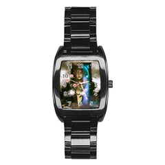 The Wonderful Women Of Earth Stainless Steel Barrel Watch by FantasyWorld7