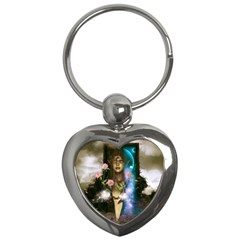 The Wonderful Women Of Earth Key Chains (heart)  by FantasyWorld7