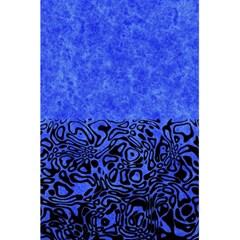 Modern Paperprint Blue 5 5  X 8 5  Notebooks by MoreColorsinLife