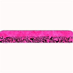 Modern Paperprint Hot Pink Small Bar Mats by MoreColorsinLife