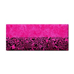 Modern Paperprint Hot Pink Cosmetic Storage Cases by MoreColorsinLife