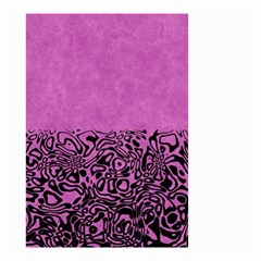 Modern Paperprint Pink Small Garden Flag (two Sides) by MoreColorsinLife