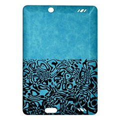 Modern Paperprint Turquoise Amazon Kindle Fire Hd (2013) Hardshell Case by MoreColorsinLife