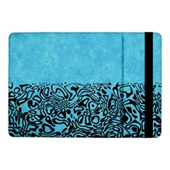Modern Paperprint Turquoise Samsung Galaxy Tab Pro 10 1  Flip Case by MoreColorsinLife