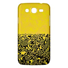 Modern Paperprint Yellow Samsung Galaxy Mega 5 8 I9152 Hardshell Case  by MoreColorsinLife