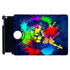 Lion Apple Ipad 3/4 Flip 360 Case by stockimagefolio1