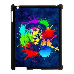 Lion Apple Ipad 3/4 Case (black) by stockimagefolio1