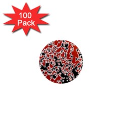 Splatter Abstract Texture 1  Mini Magnets (100 Pack)  by dflcprints