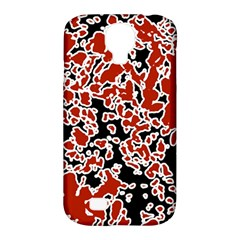 Splatter Abstract Texture Samsung Galaxy S4 Classic Hardshell Case (pc+silicone) by dflcprints