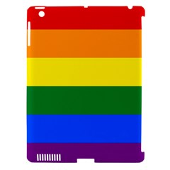 Pride Flag Apple Ipad 3/4 Hardshell Case (compatible With Smart Cover) by Valentinaart