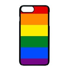 Pride Flag Apple Iphone 7 Plus Seamless Case (black) by Valentinaart