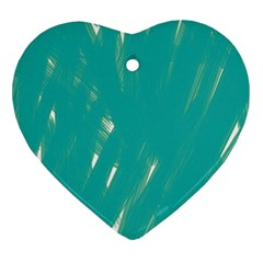 Background Green Abstract Ornament (heart)