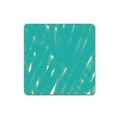 Background Green Abstract Square Magnet