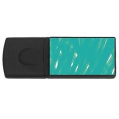 Background Green Abstract Rectangular Usb Flash Drive by Nexatart