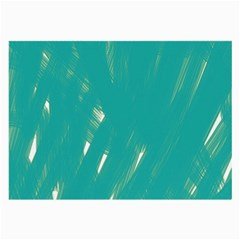 Background Green Abstract Large Glasses Cloth (2 Side)
