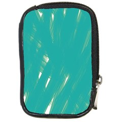 Background Green Abstract Compact Camera Cases by Nexatart