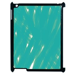 Background Green Abstract Apple Ipad 2 Case (black) by Nexatart