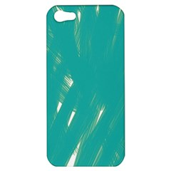 Background Green Abstract Apple Iphone 5 Hardshell Case