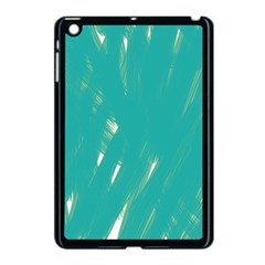 Background Green Abstract Apple Ipad Mini Case (black)