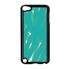 Background Green Abstract Apple Ipod Touch 5 Case (black) by Nexatart