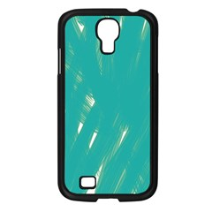 Background Green Abstract Samsung Galaxy S4 I9500/ I9505 Case (black) by Nexatart