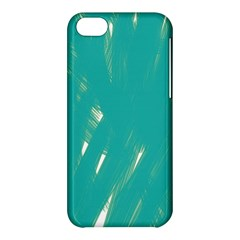 Background Green Abstract Apple Iphone 5c Hardshell Case