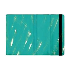 Background Green Abstract Ipad Mini 2 Flip Cases by Nexatart