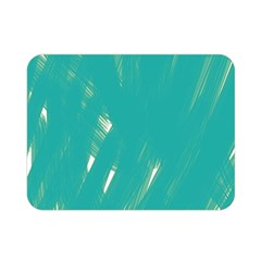 Background Green Abstract Double Sided Flano Blanket (mini)