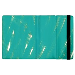 Background Green Abstract Apple Ipad Pro 9 7   Flip Case by Nexatart