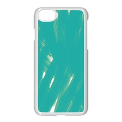 Background Green Abstract Apple Iphone 7 Seamless Case (white)