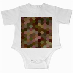 Brown Background Layout Polygon Infant Creepers