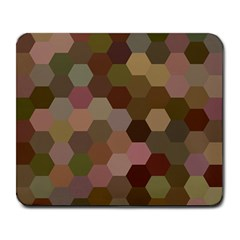 Brown Background Layout Polygon Large Mousepads by Nexatart
