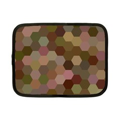 Brown Background Layout Polygon Netbook Case (small)  by Nexatart