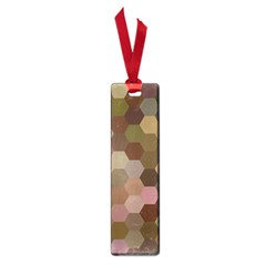 Brown Background Layout Polygon Small Book Marks by Nexatart